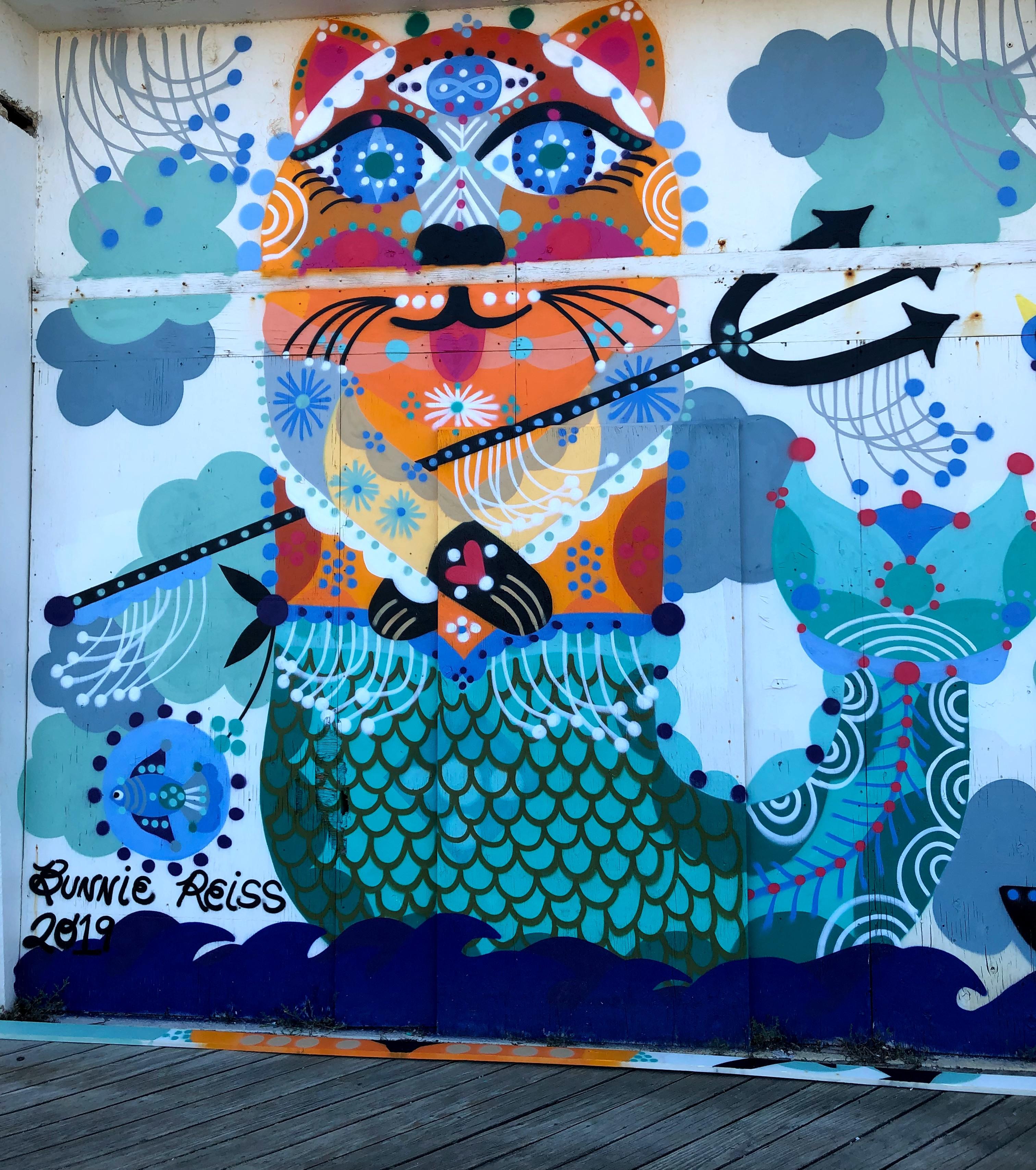 Bonnie Reiss mural
