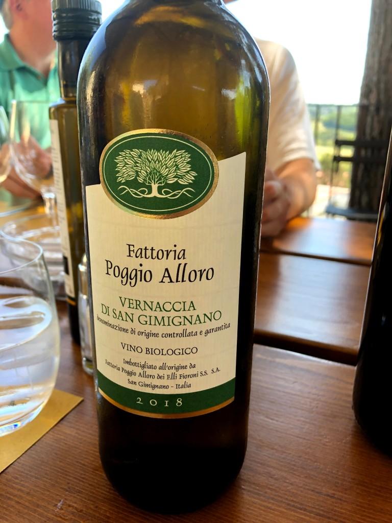 Poggio Alloro wine