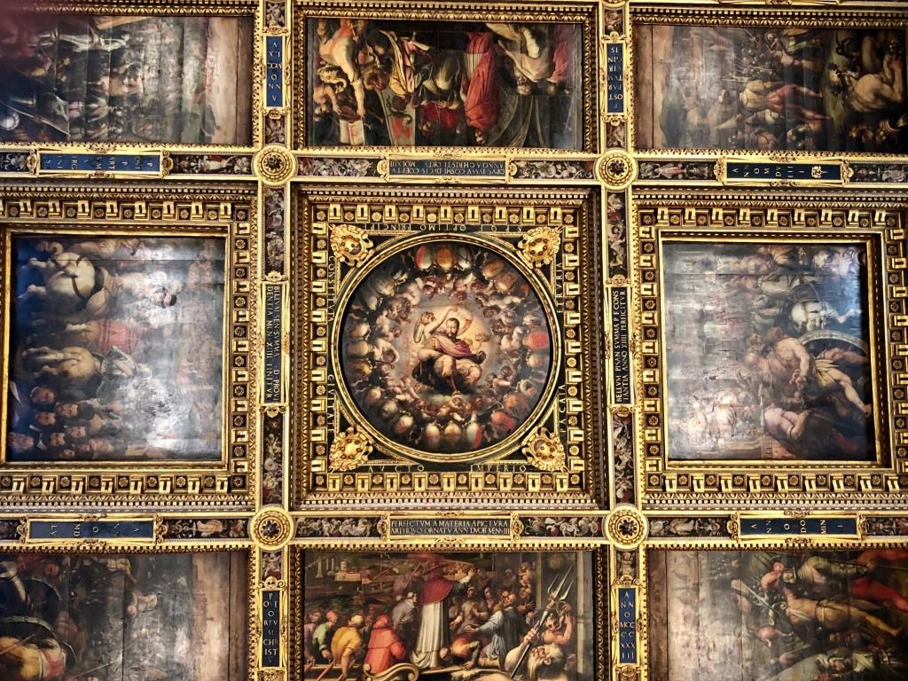 Ceiling in Palazzo Vecchio