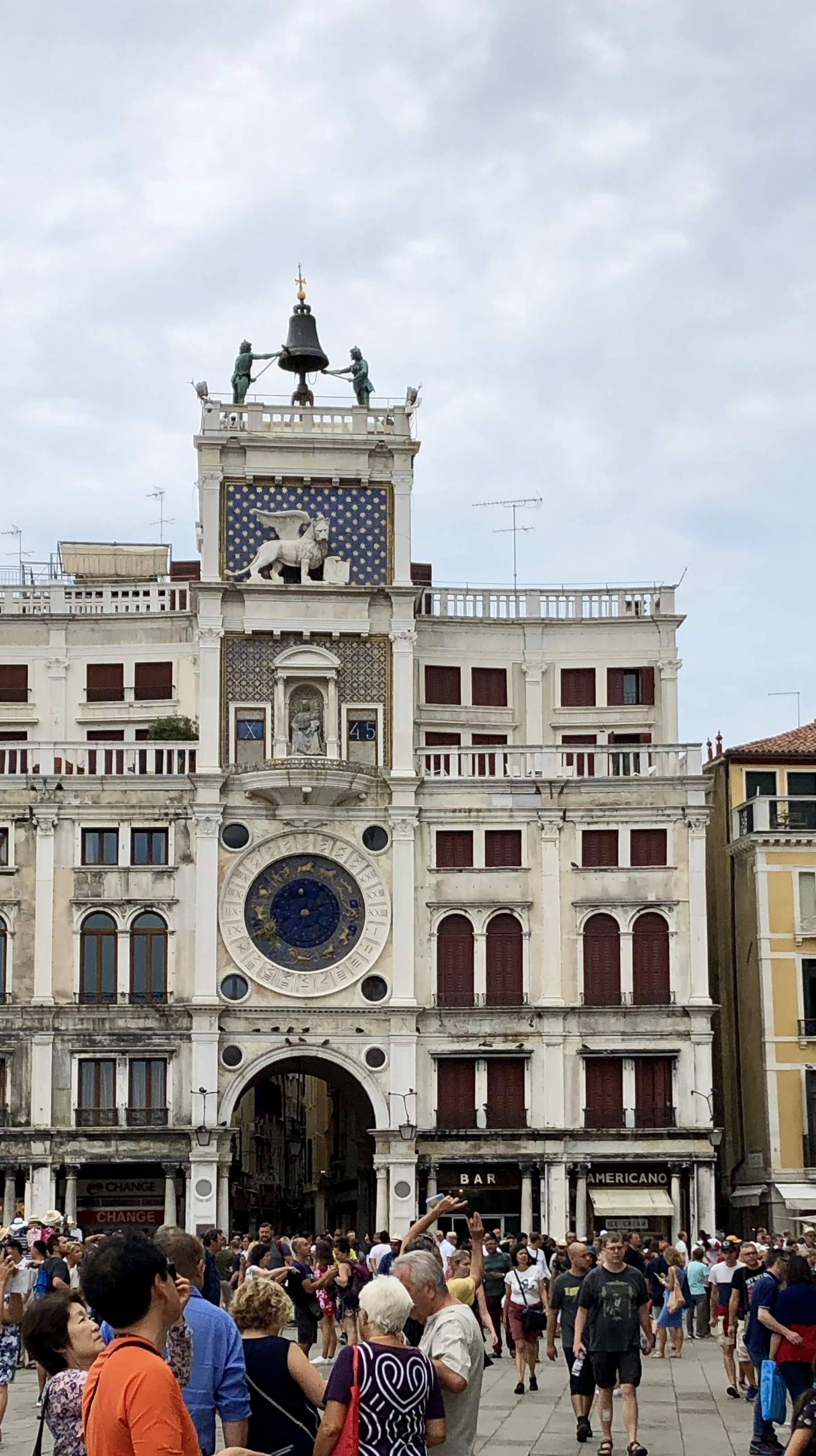 San Marco clock tower