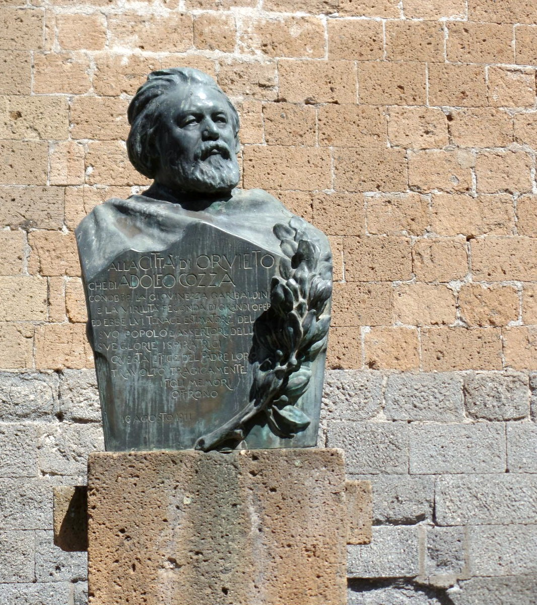 Bust of Adolfo Cozza