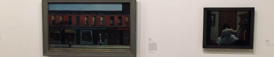 Hopper at the Whitney