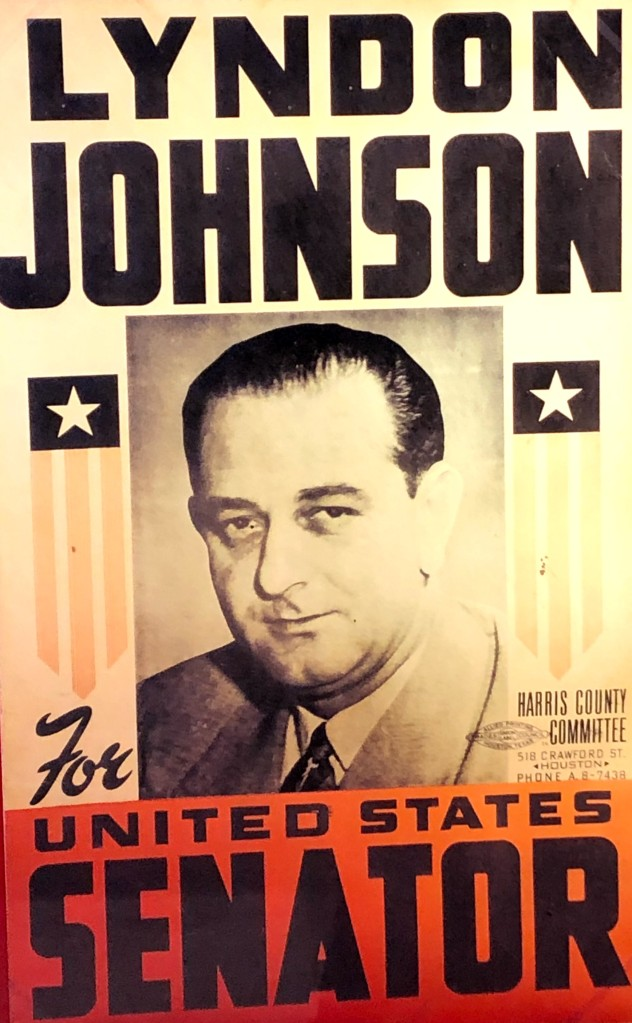 LBJ runs for Senate