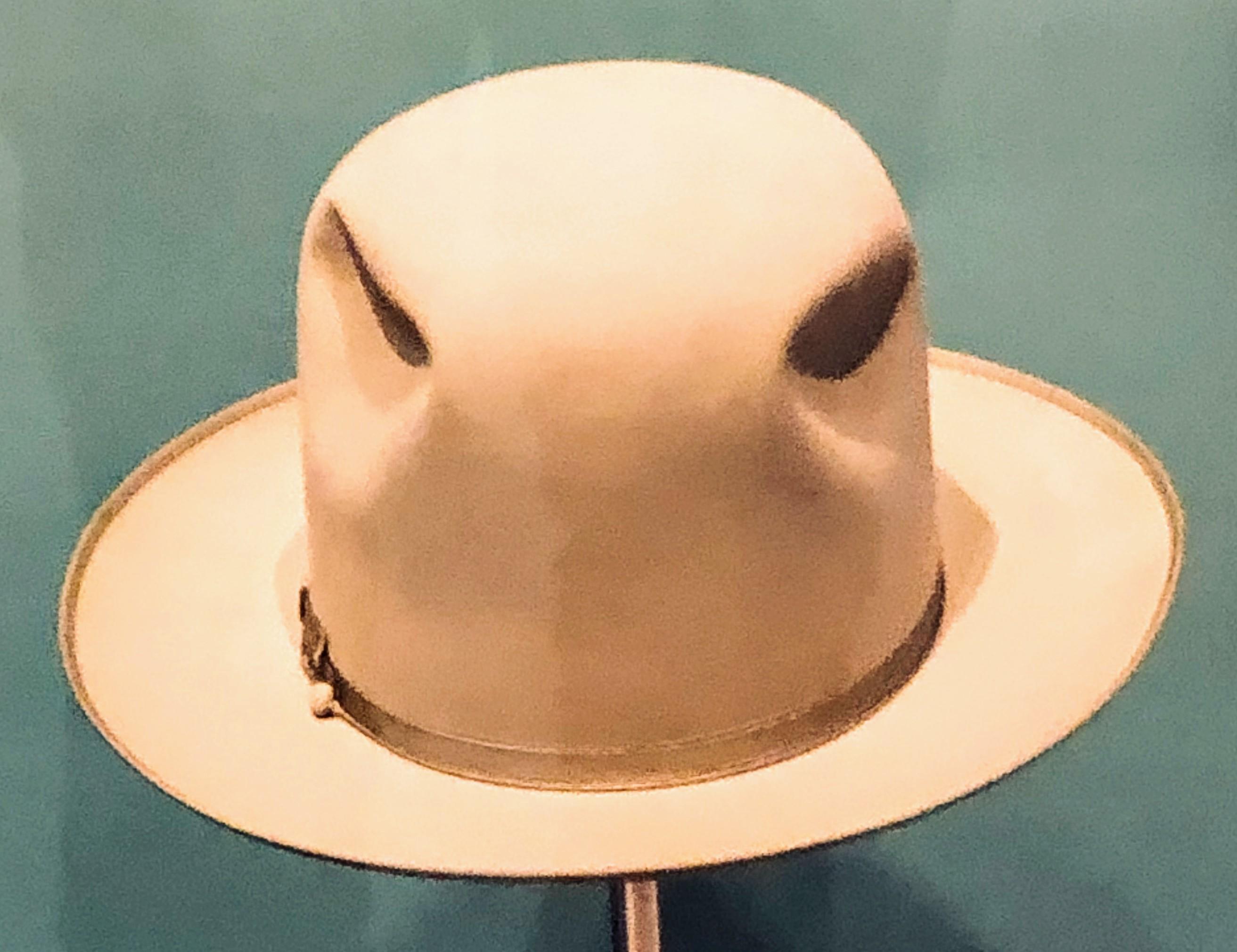 LBJ's hat