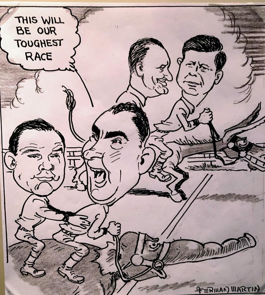 LBJ cartoon