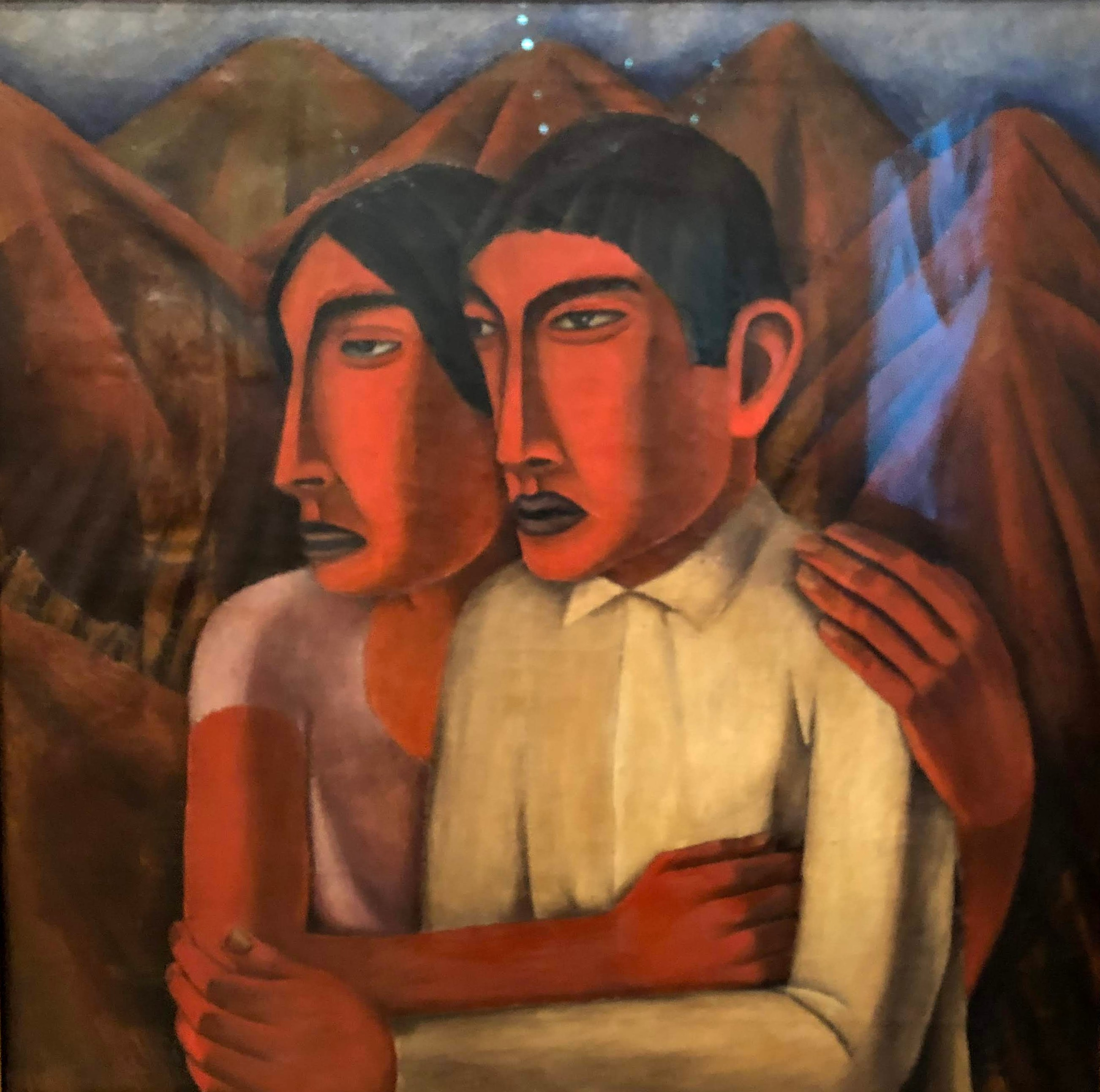 Man and Woman, Ruffino Tamayo