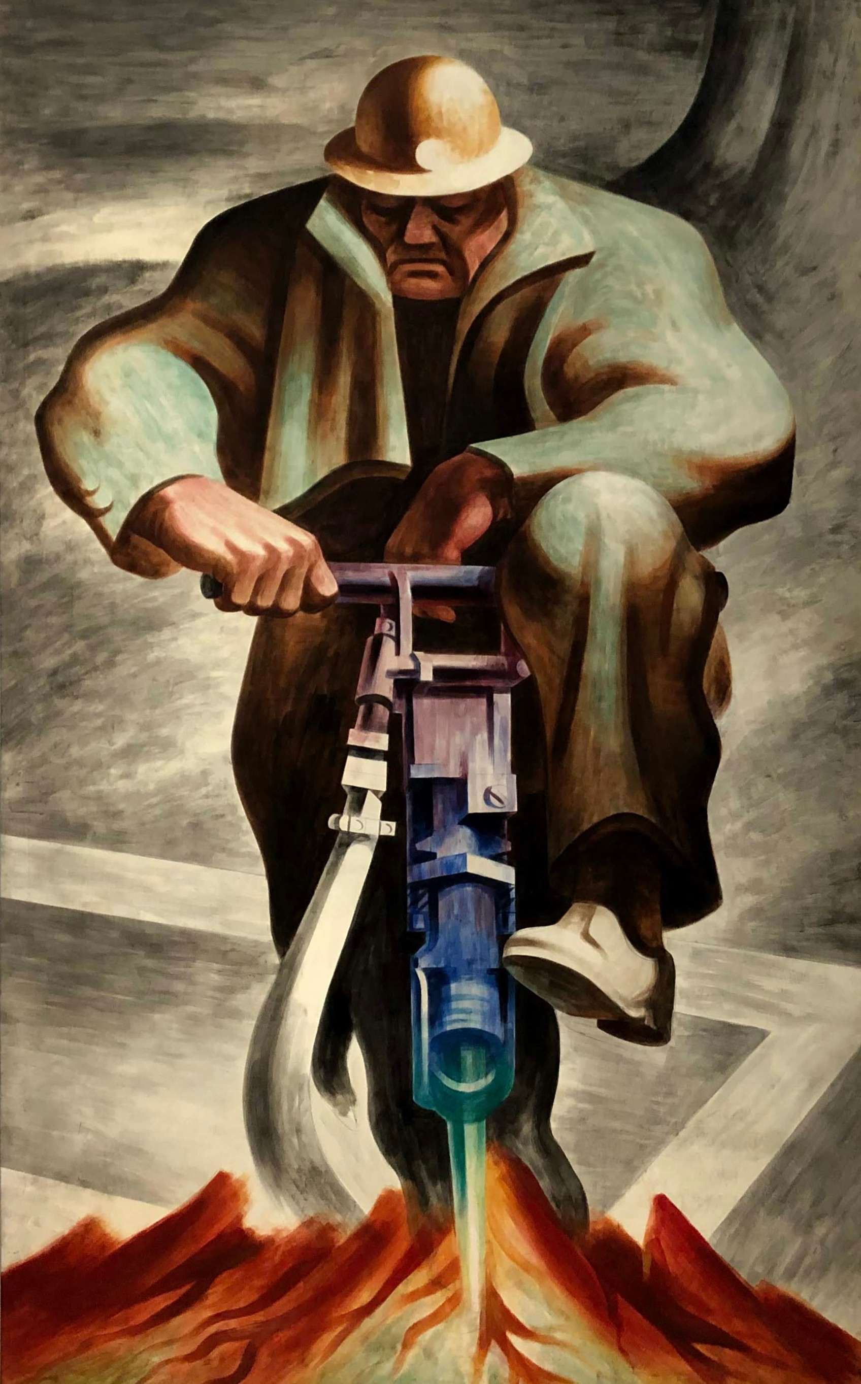 The Driller, Harold Lehman