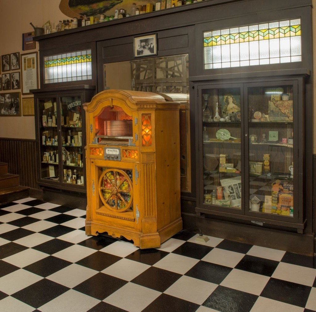 Soda fountain jukebox
