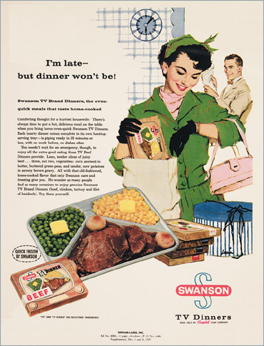 Swanson TV dinner ad