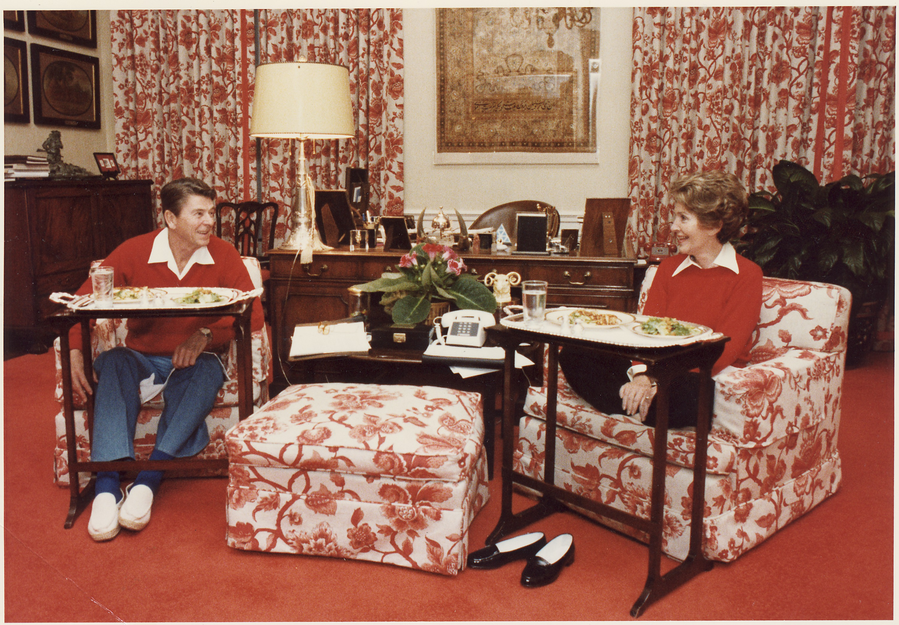TV dinners at the White House