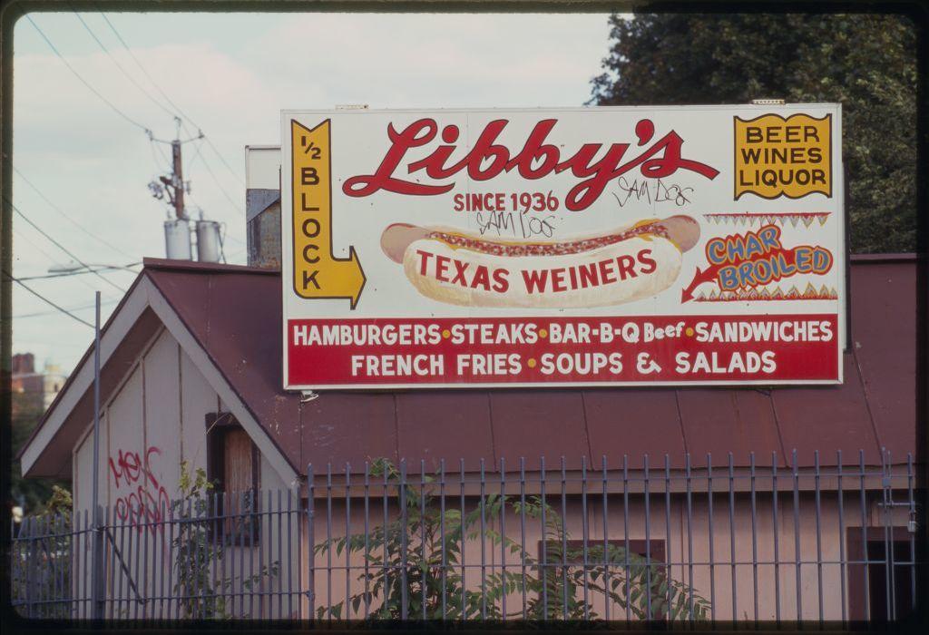 Libby's street sign