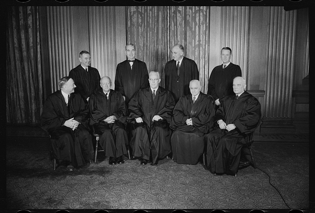1957 Supreme Court justices