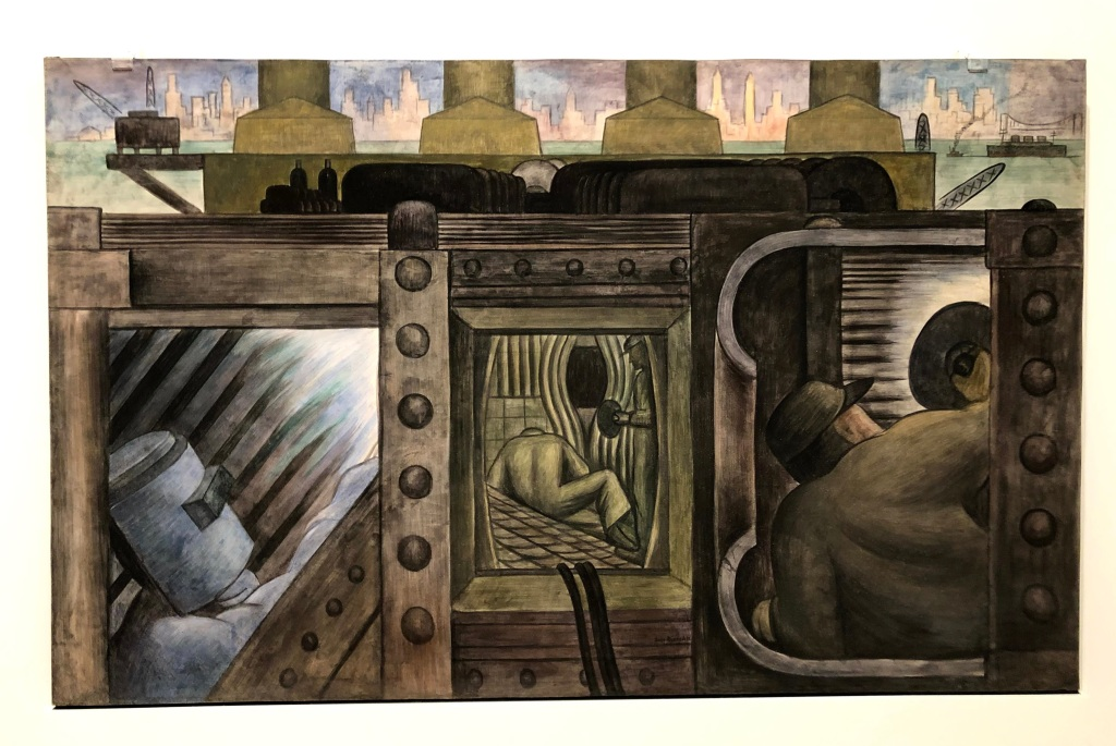 Electric Power, Diego Rivera