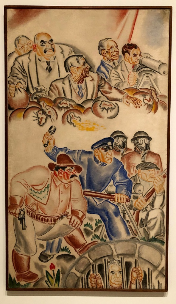 Us Fellas Gotta Stock Together (The Last Defenses of Capitalism), Hugo Gellert.