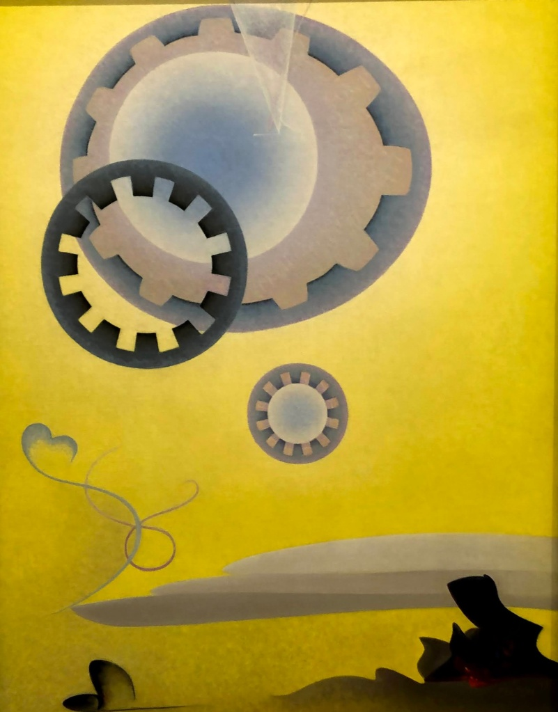 Agnes Pelton painting