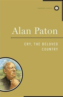Cry, the Beloved Country book cover