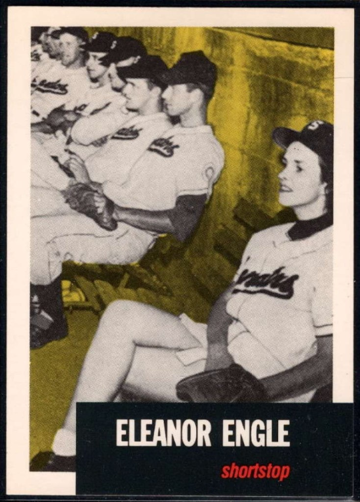 Eleanor Engle baseball card