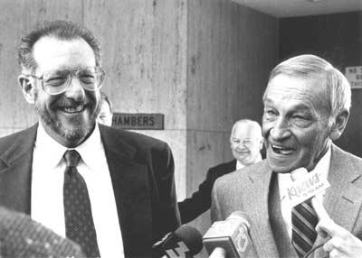 Oscar Goodman and Harry Claiborne