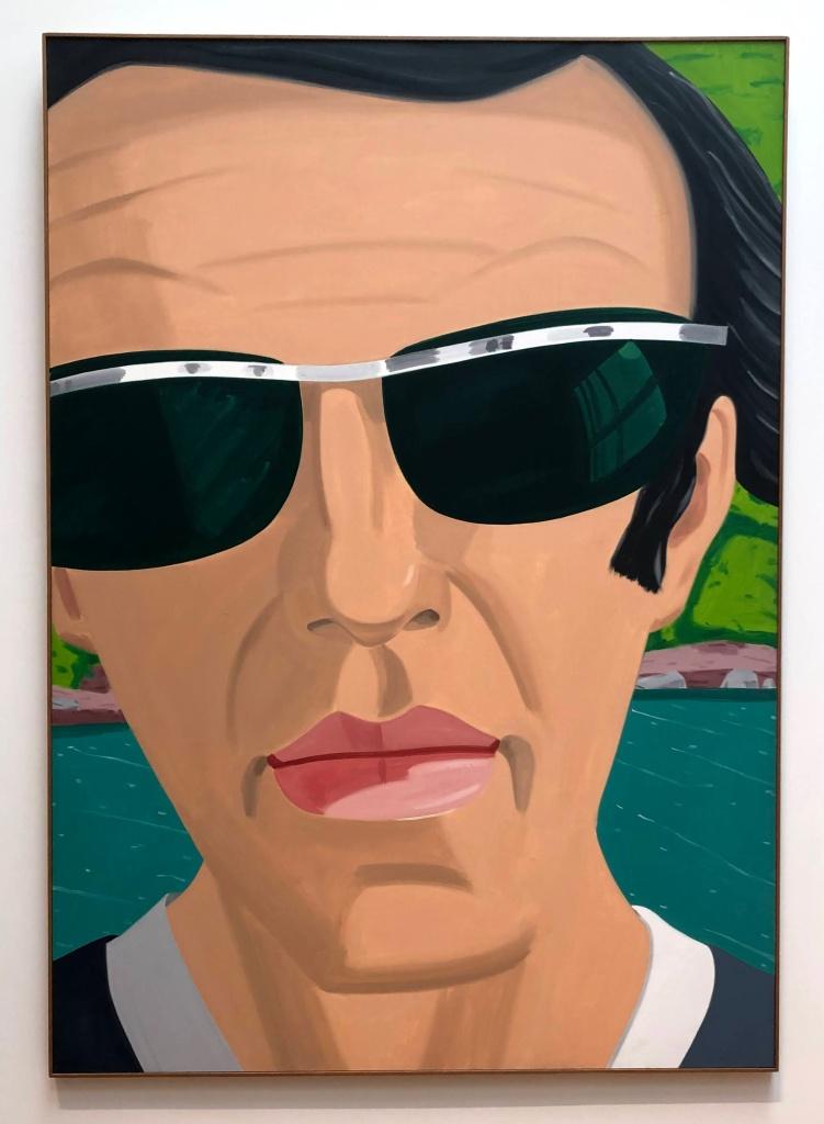 Self-Portrait with Sunglasses, Alex Katz
