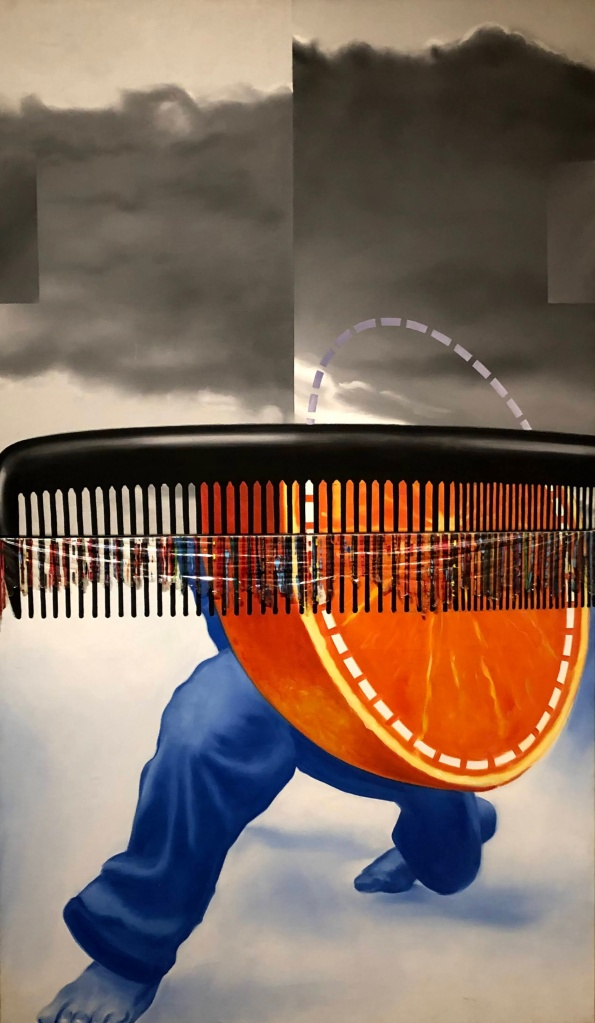 Early in the Morning, James Rosenquist