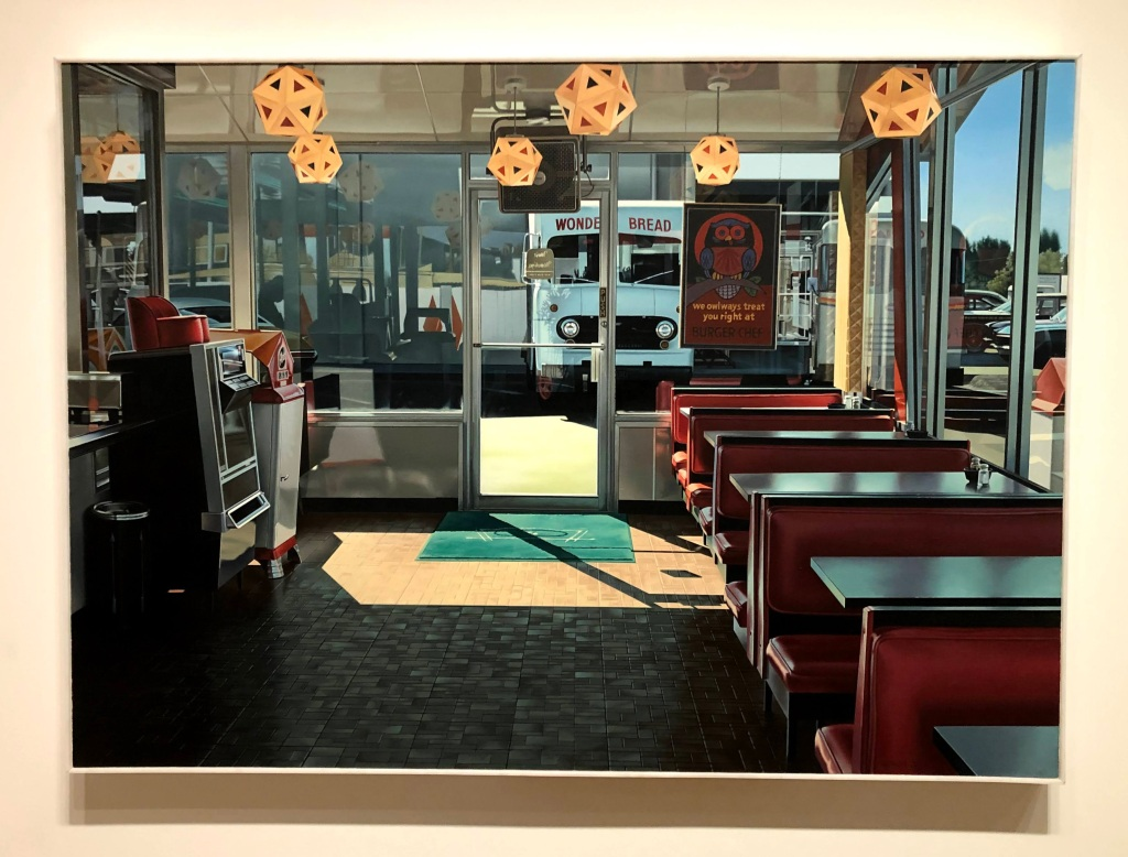 Burger Chef Interior, Ralph Goings