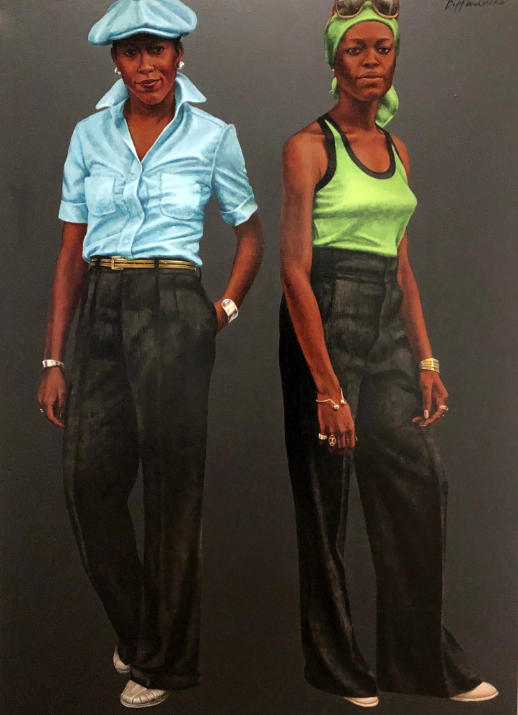 Sisters (Susan and Toni), Barkley Hendricks