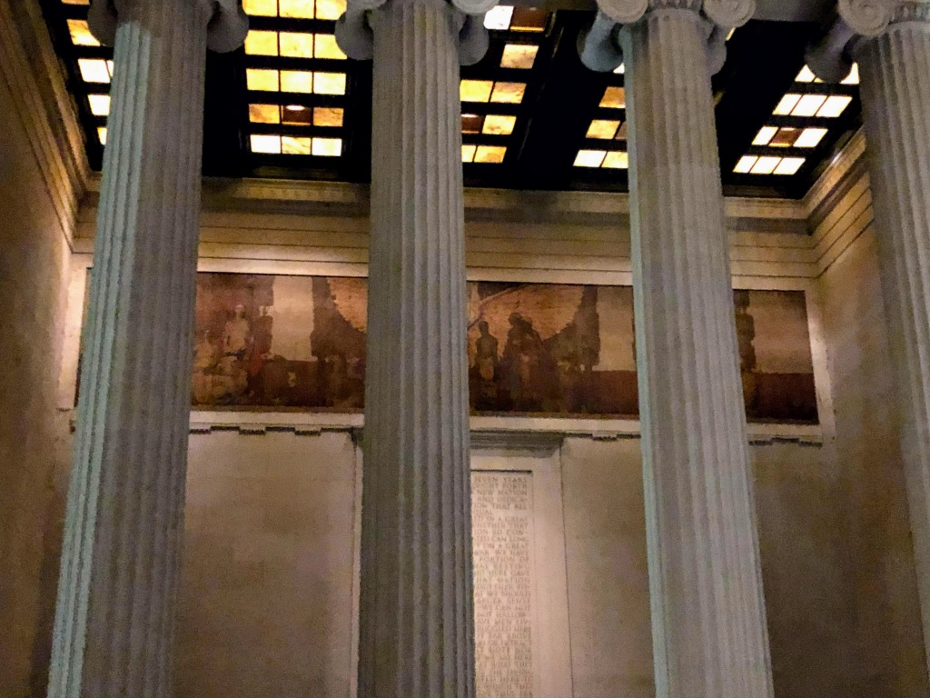 Lincoln Memorial mural