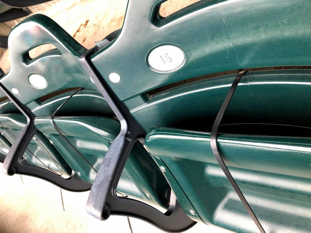 Strapped seats, Citi Field