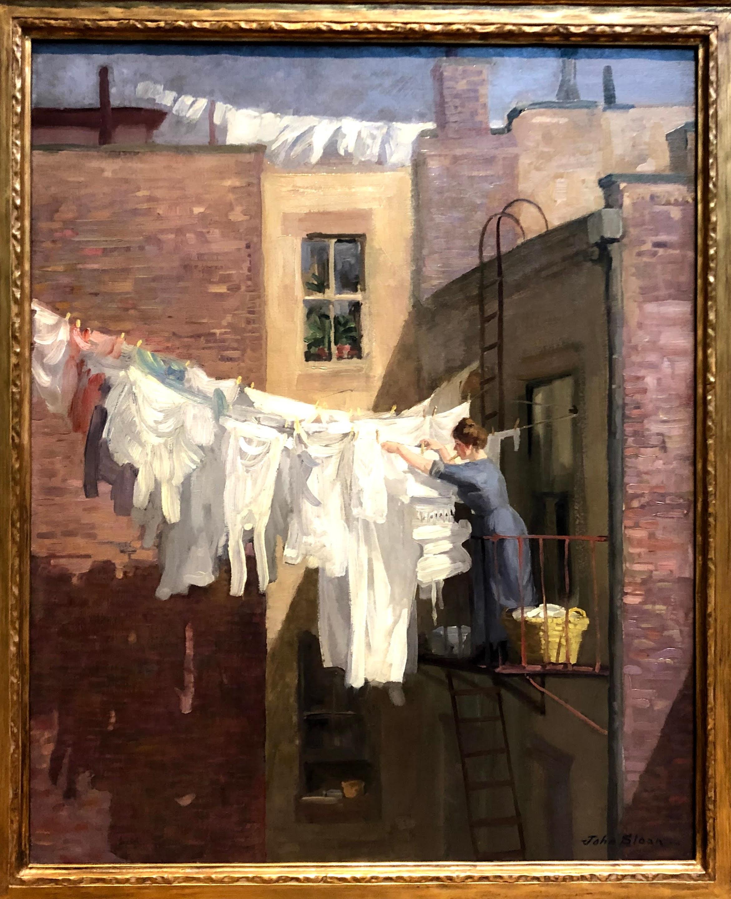 A Woman's Work, John Sloan