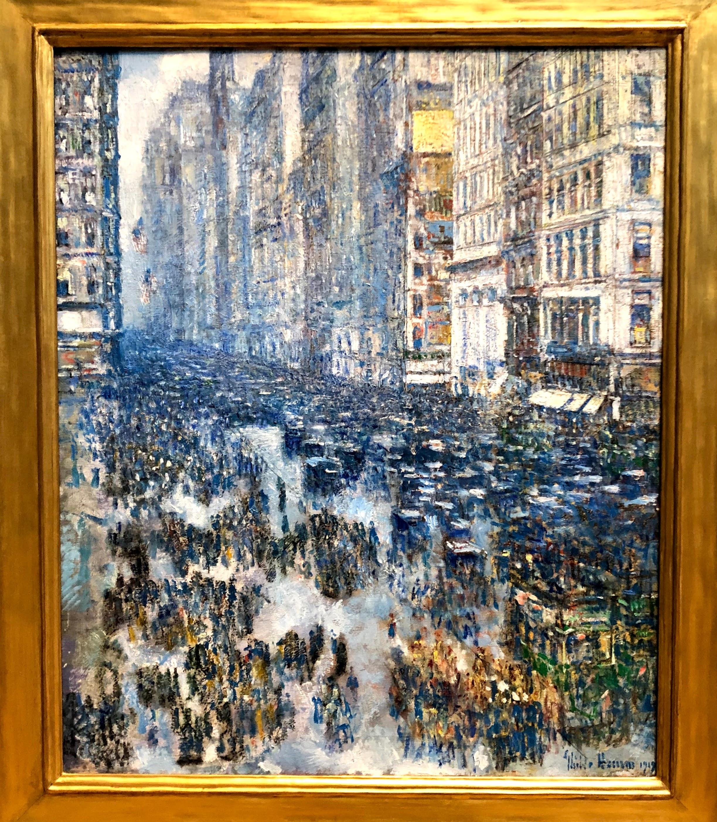 Fifth Avenue, Childe Hassam