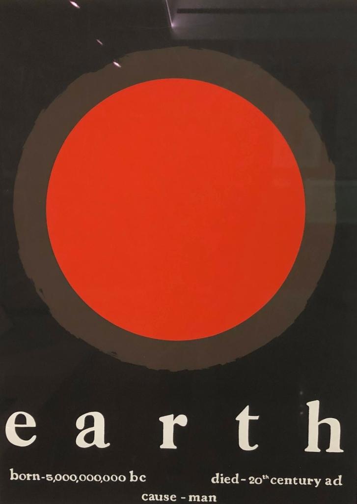 Tom Benton Earth poster