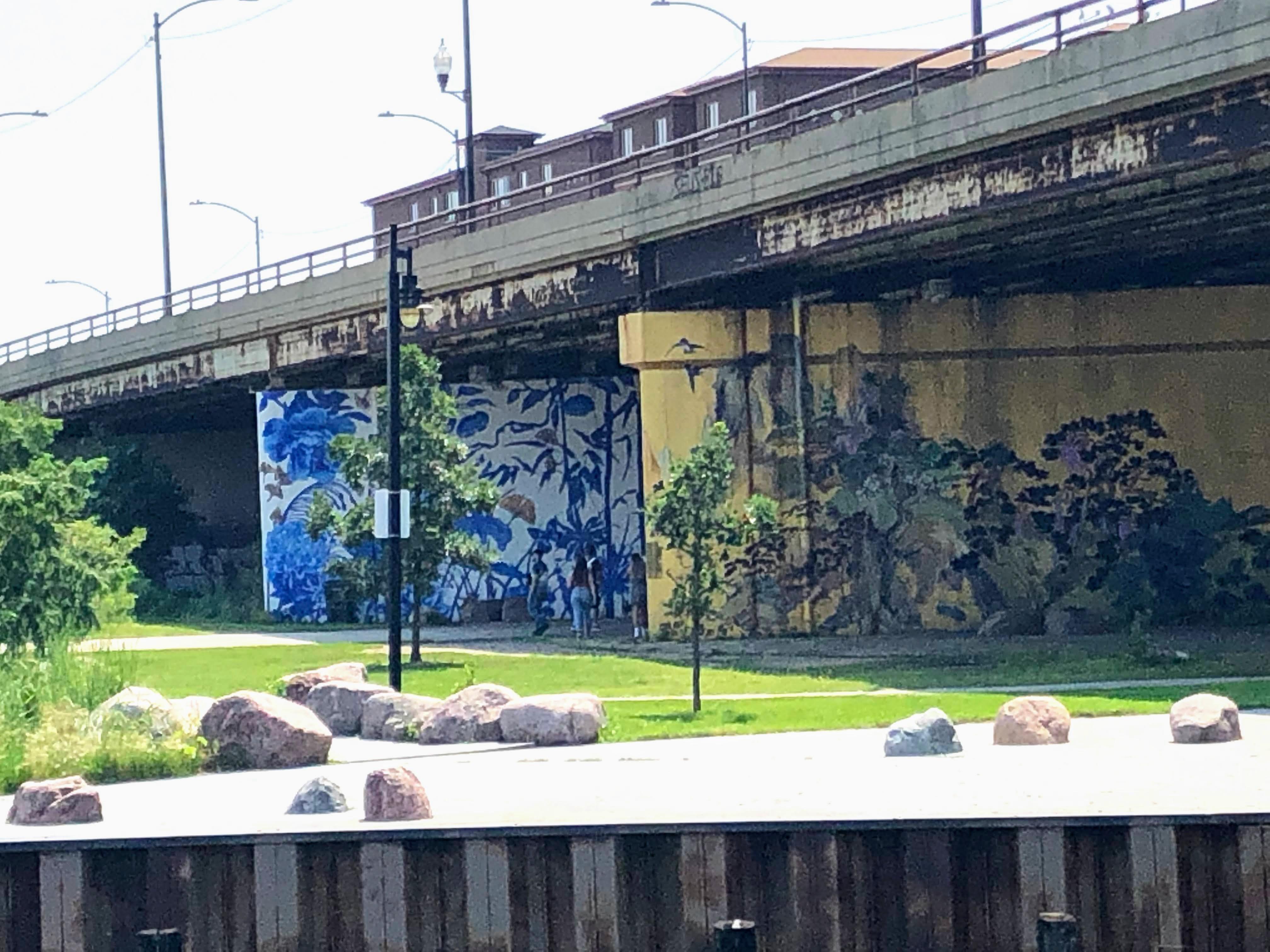Ping Tom Memorial Park murals