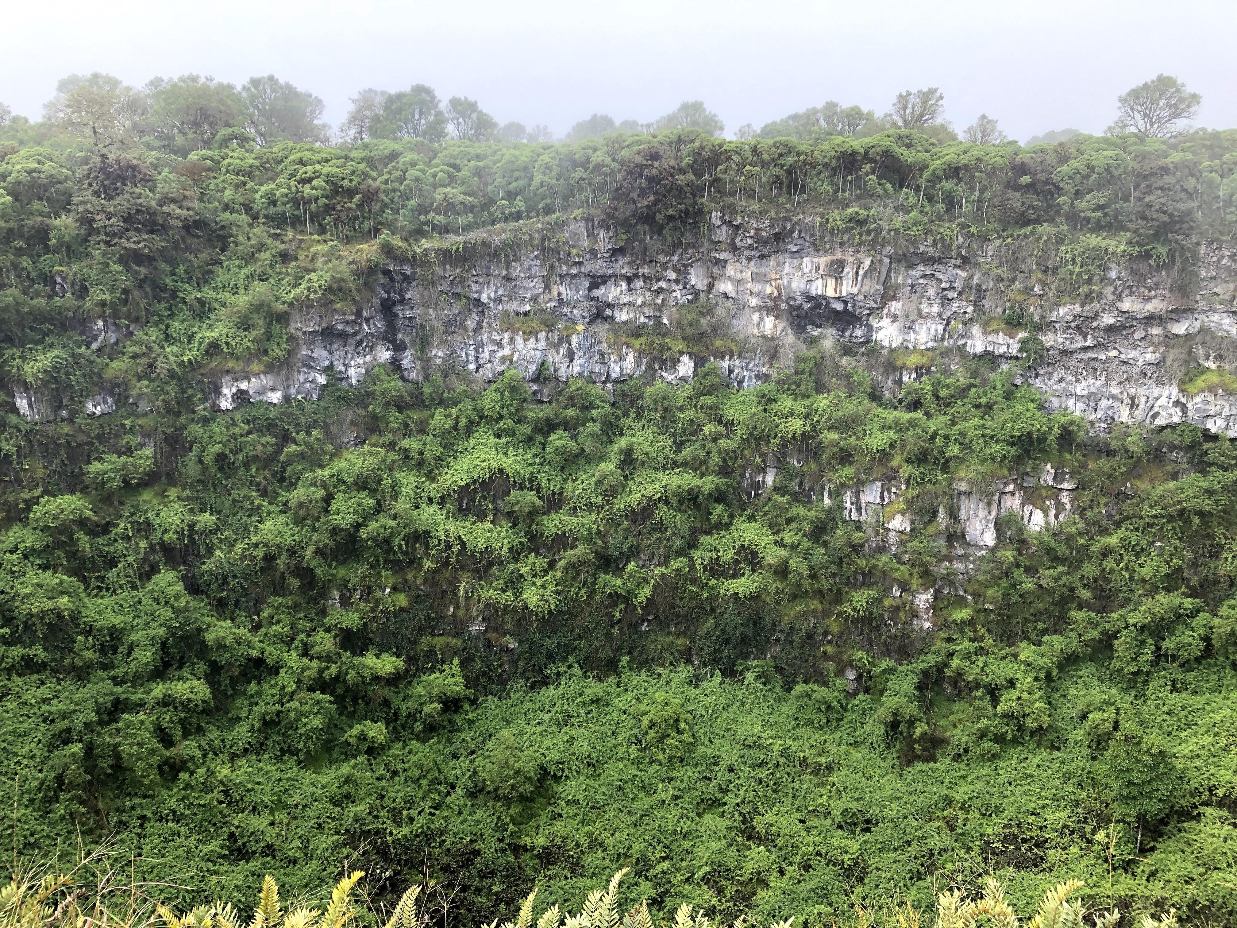 Crater at Los Gemelos