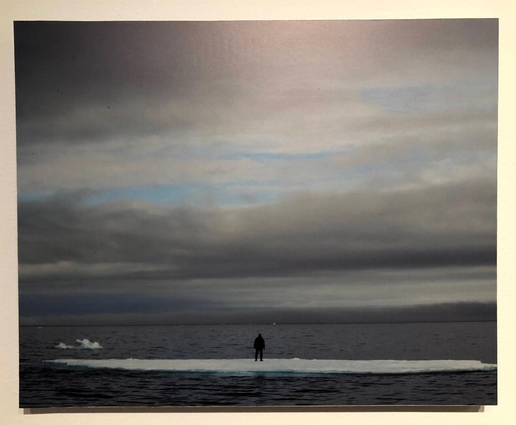 Artist on a Floating Iceberg