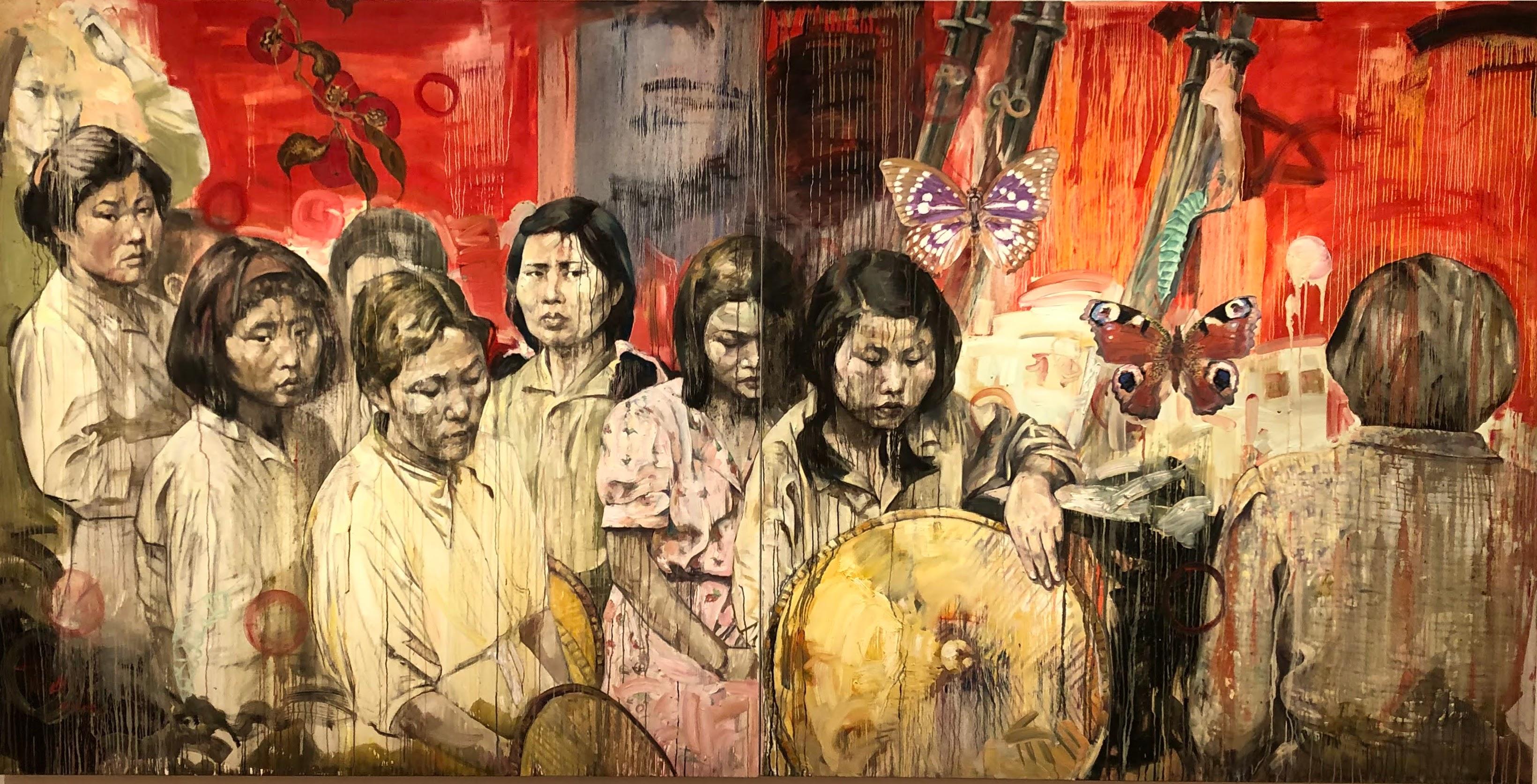 Strange Fruit: Comfort Women, by Hung Liu
